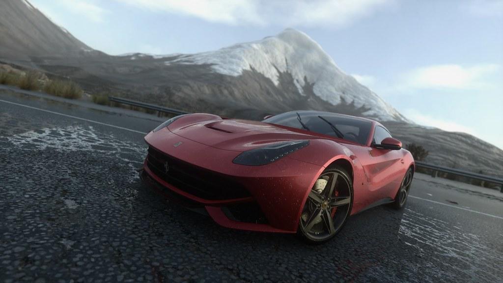 Driveclub Ferrari F12berlinetta Chungara Lake Chile Flickr