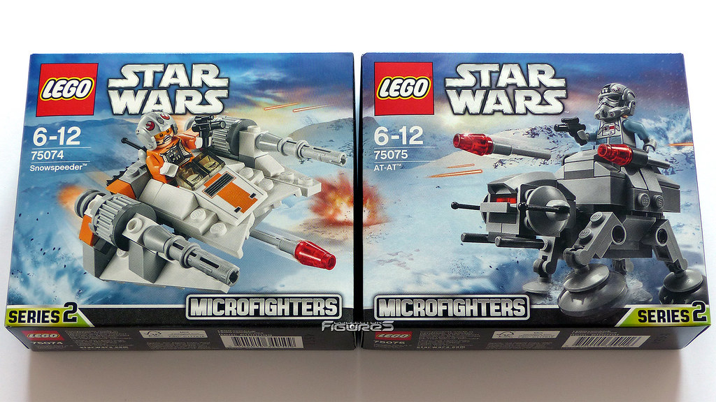 lego star wars microfighters 75074 snowspeeder 75075 a flickr. Black Bedroom Furniture Sets. Home Design Ideas