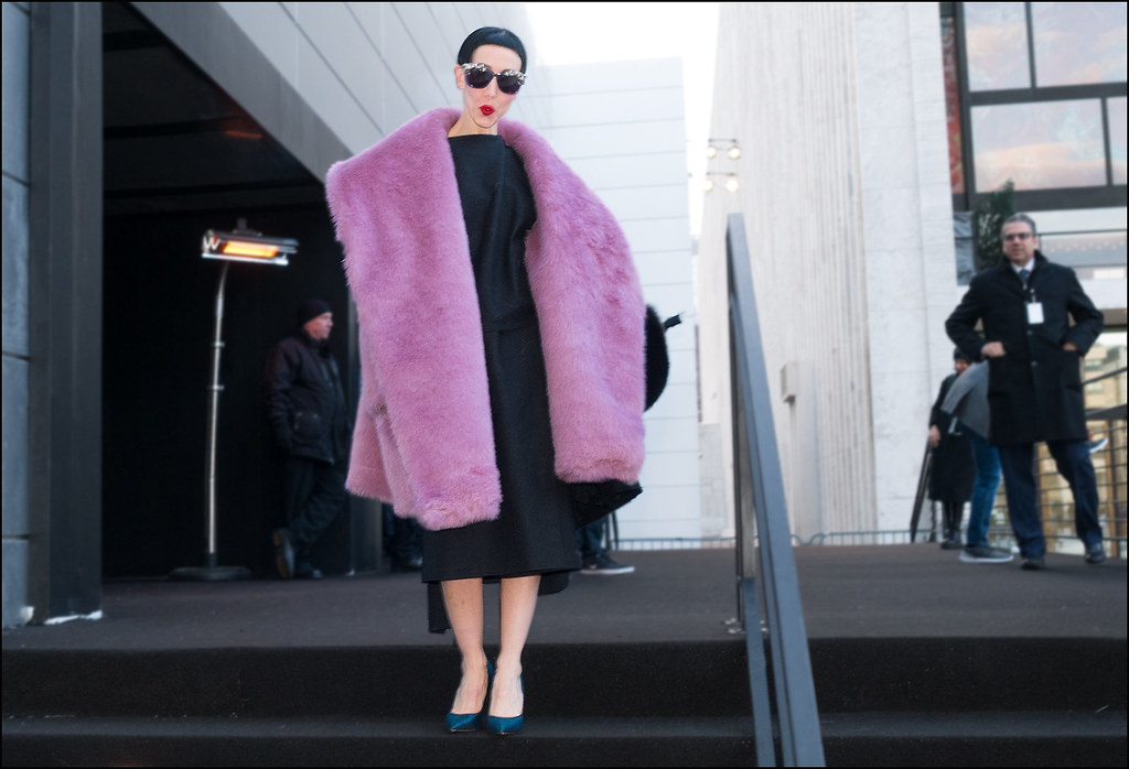 Fw2 15 4 Michelle Harper Black Dress Tona Pink Fur Blue Pu Flickr