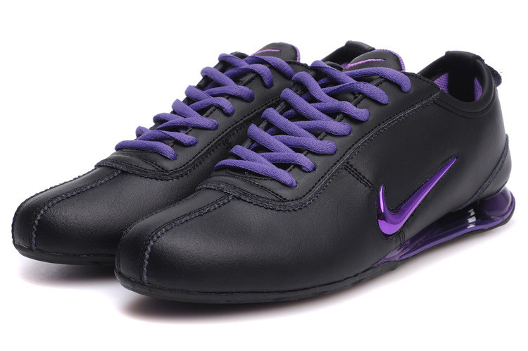 check out 0a071 bd087 ... chaussures nike shox r3 femme (noir pourpre)   by greenshox2015