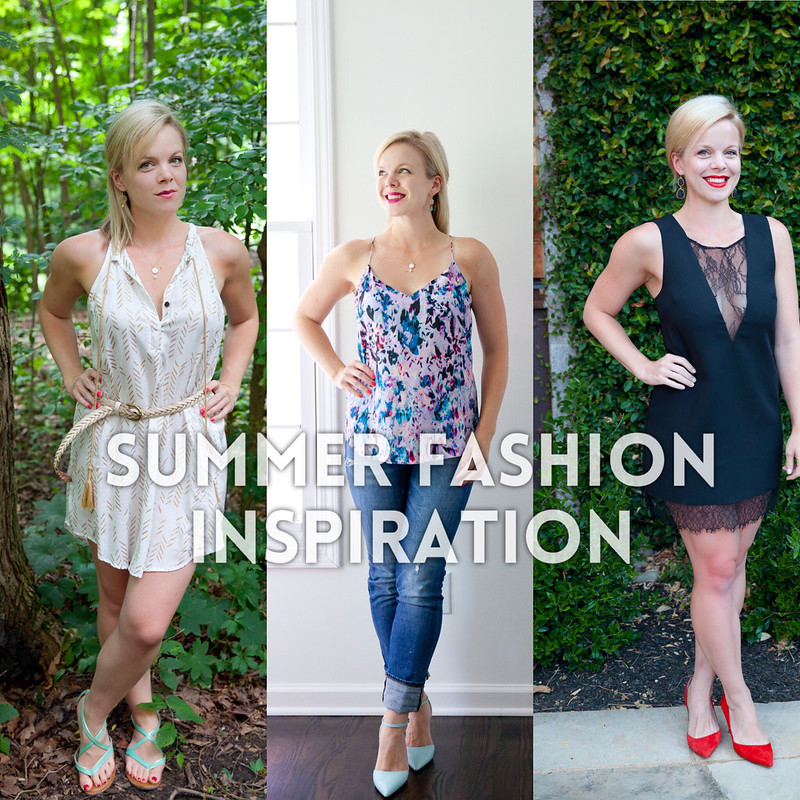 Outfits I'm Loving Lately: Summer Fashion Inspiration