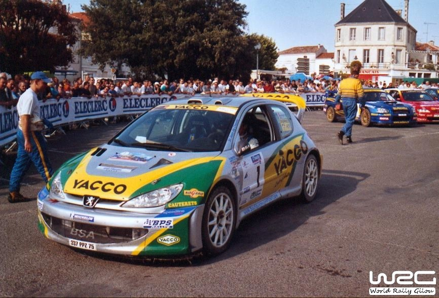 rallye d 39 automne la rochelle 2003 peugeot 206 wrc be. Black Bedroom Furniture Sets. Home Design Ideas