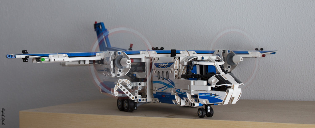 lego technic 42025 frachtflugzeug hendrik schulz flickr. Black Bedroom Furniture Sets. Home Design Ideas