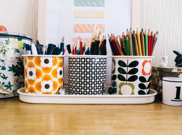 organising art supplies - cardboardcities » creative lifestyle blog