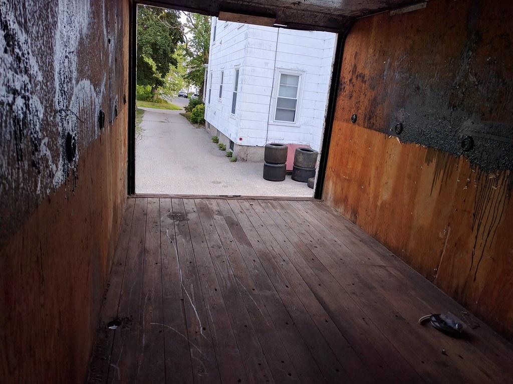 Box truck rear