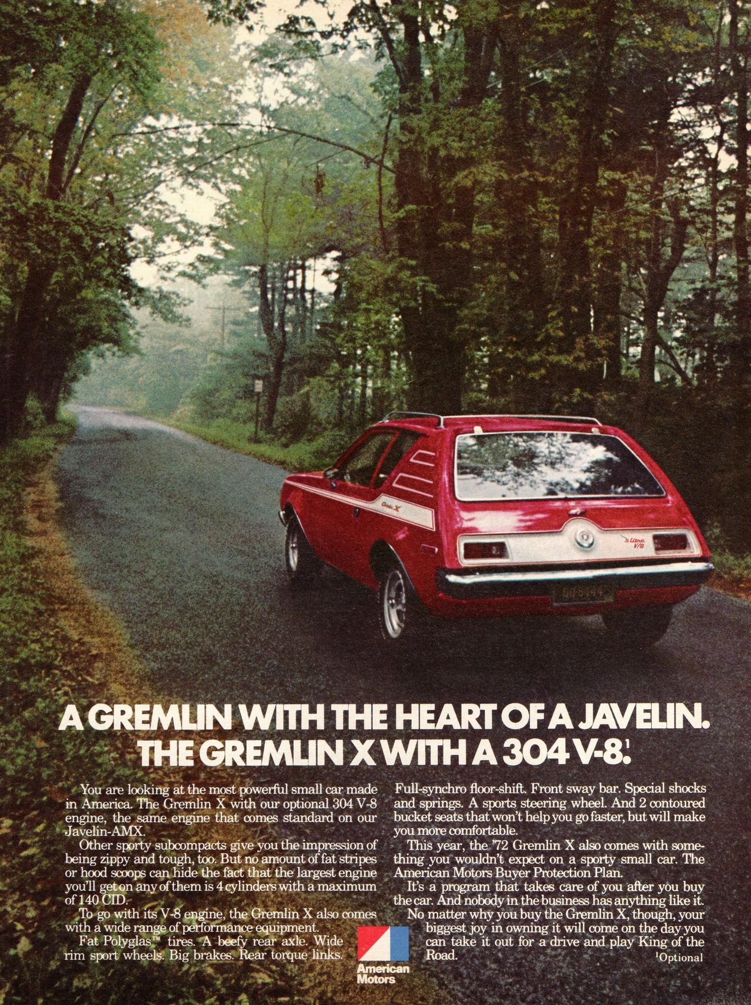1972 American Motors Gremlin X