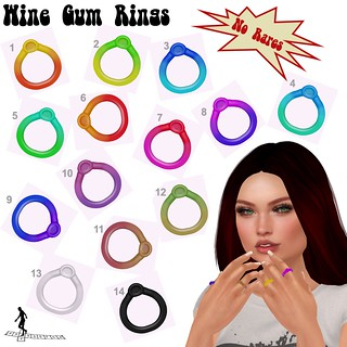 Wine Gum Rings | by ♥☆•Chandni•☆♥ / *~*HopScotch*~*