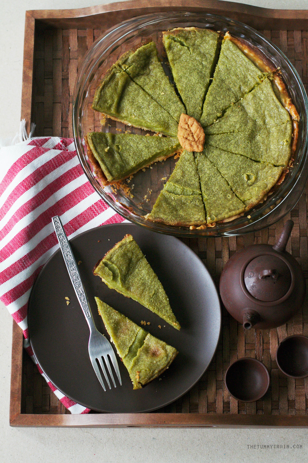 29838438110 0aa10e1416 h - Second chance Matcha Pie using Matcha King's Ceremonial Matcha