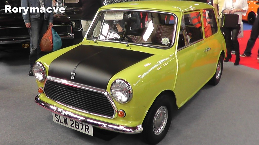leyland mini mr bean the iconic mini from the series mr flickr. Black Bedroom Furniture Sets. Home Design Ideas