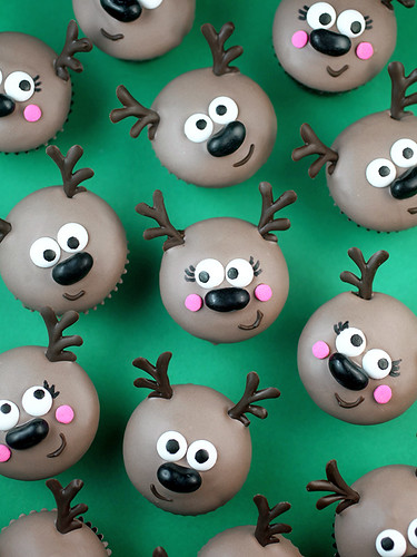 Rudolph Birthday Cake