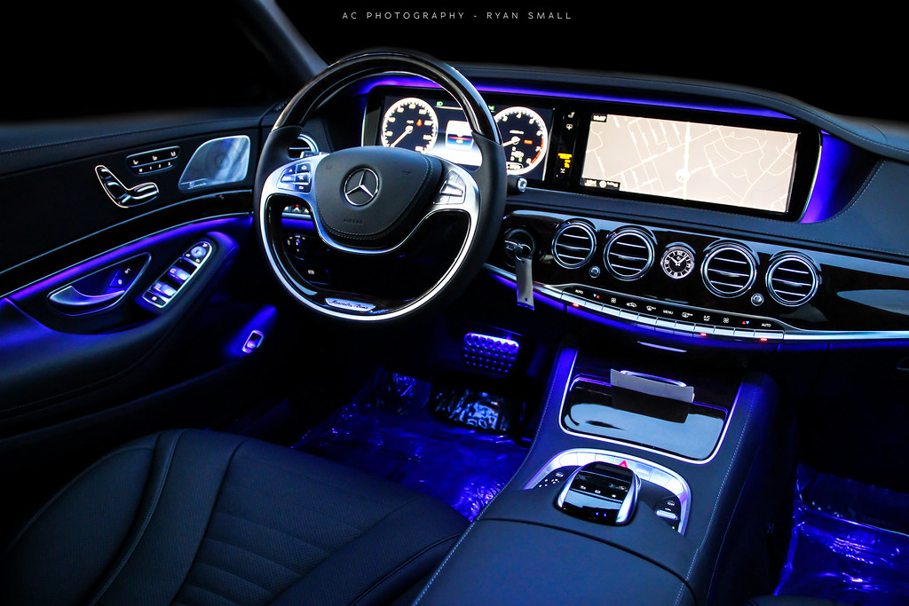 how to change ambient lighting mercedes
