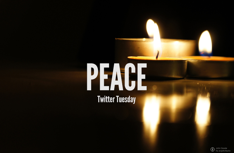 Twitter Tuesday: #Peace