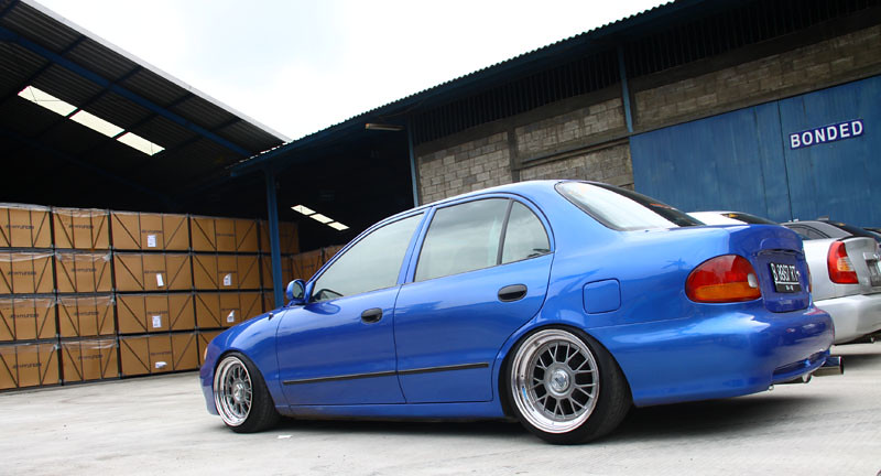 Cool Hyundai Accent Cool Stanced Hyundai Accent At