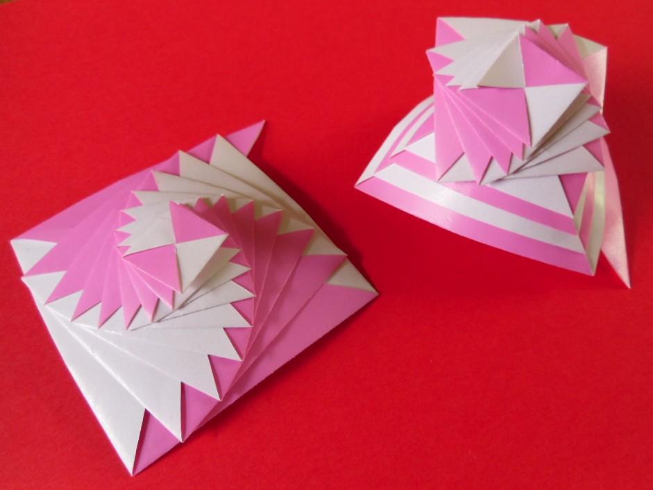 Curlicue Origami 1 Diagam Assia Brill Dinie Flickr