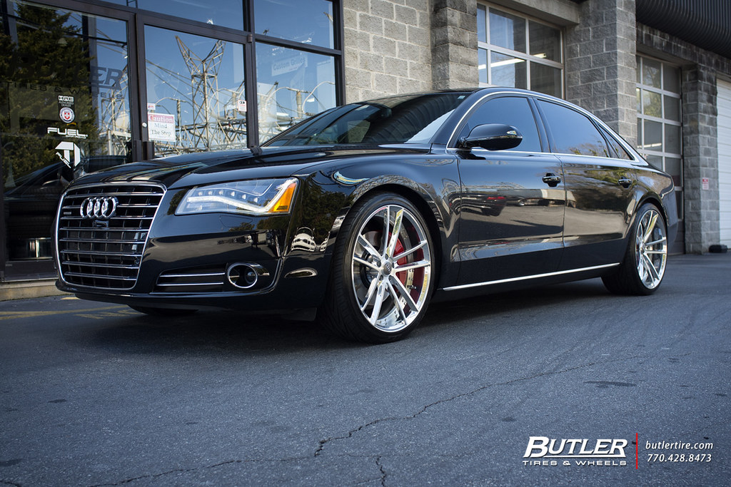 Audi A8 With 22in Savini Sv51d Wheels Additional Picture