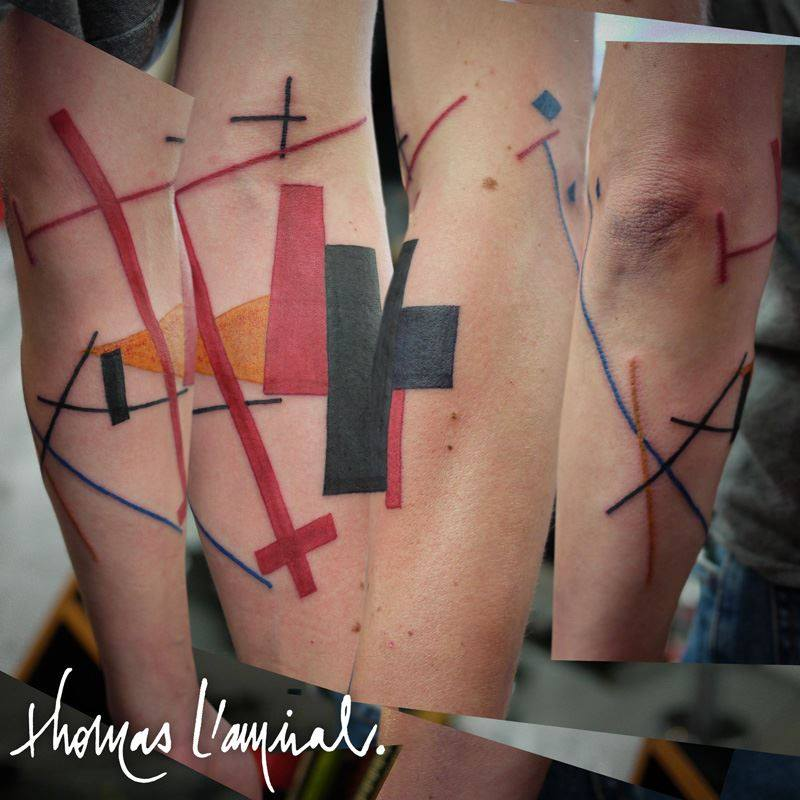 Tatouage Croix 3 Thomas L Amiral Lapagetatouage Lapageta Flickr