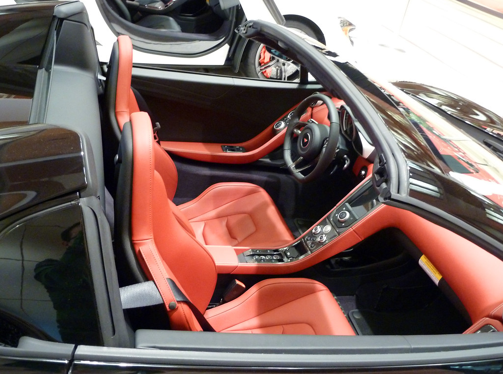Awesome ... Interior Of The McLaren 650S | By Pathological