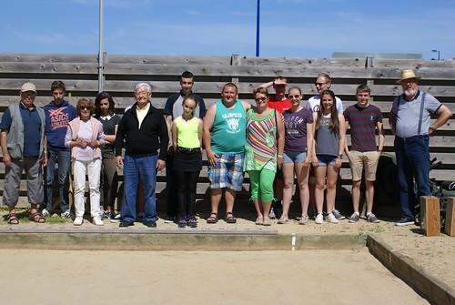 06/07/2016 - Primfel Trégastel (Plougasnou) : 1ère séance d'initiation gratuite aux boules plombées