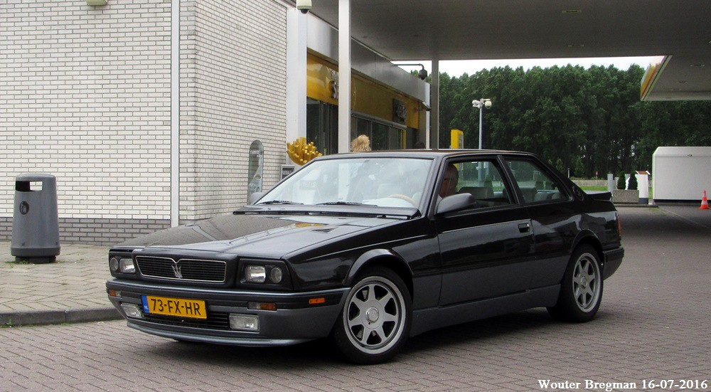 Maserati Biturbo 2.24v. II 1992   Leiderdorp, Netherlands ...