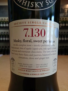 SMWS 7.130 - Musky, floral, sweet perfumes