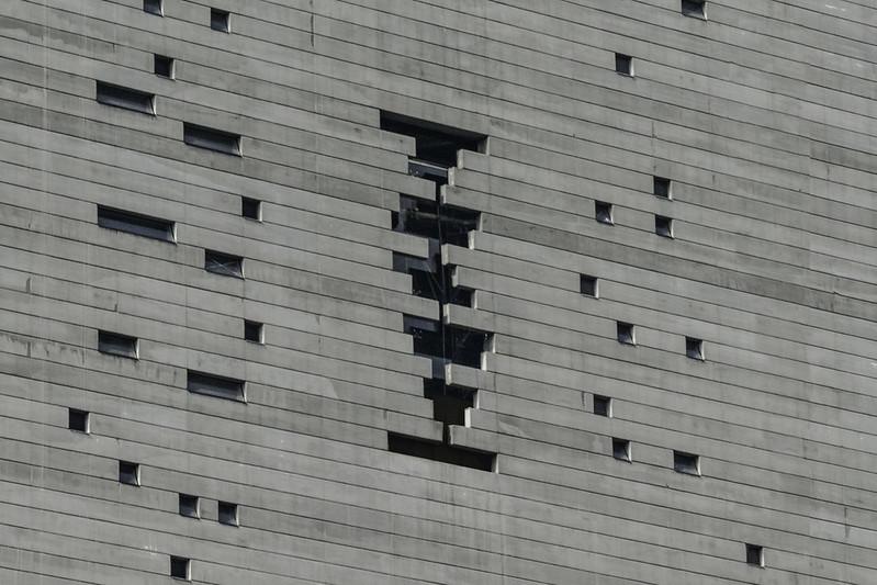 Фасад башни Torre Reforma