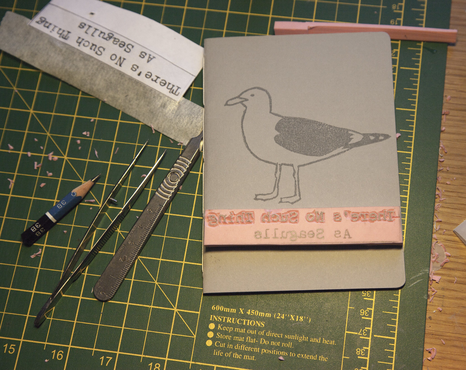 There's No Such Thing As Seagulls - Artists Book