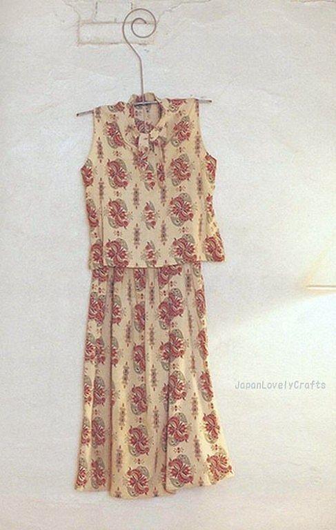 Japanese Sewing Pattern Kimono Remake Upcycled Dress Hi Flickr