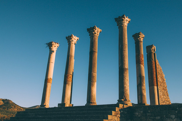 Off The Beaten Path: Morocco | Volubilis | Photo by Ashlae Warner | @saltandwind Field Notes | www.saltandwind.com