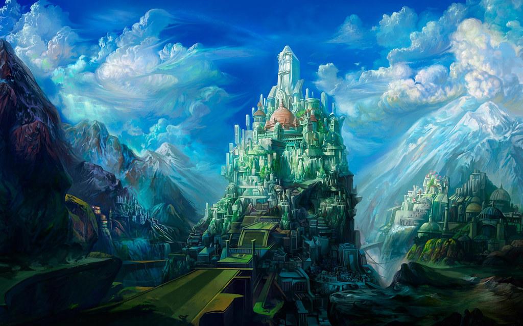 תוצאת תמונה עבור fantasy backgrounds castle