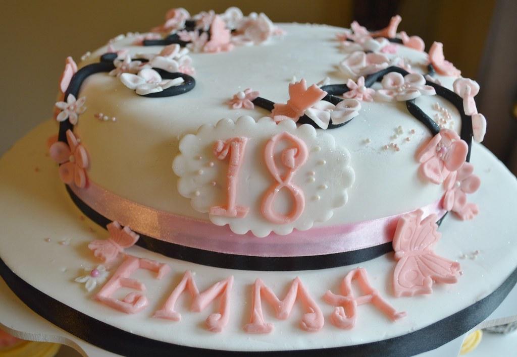 Japanese 18th Birthday Cake 18th Birthday Cake Anitas Wicked