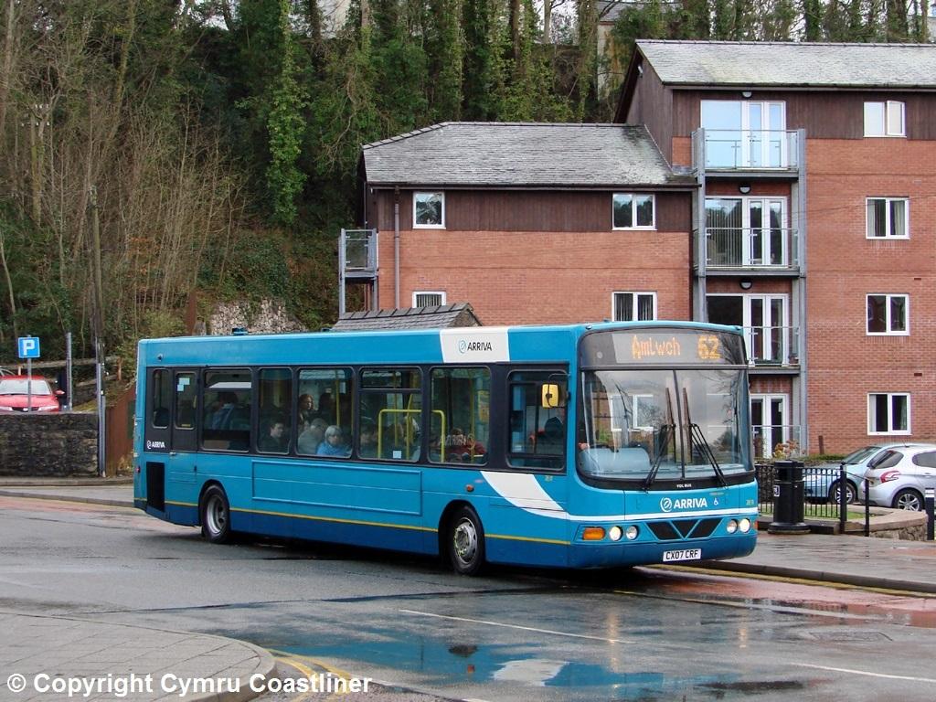 ... ARRIVA Buses Wales 2631 - CX07 CRF | by Cymru Coastliner
