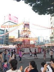 恵比寿駅前盆踊り2016