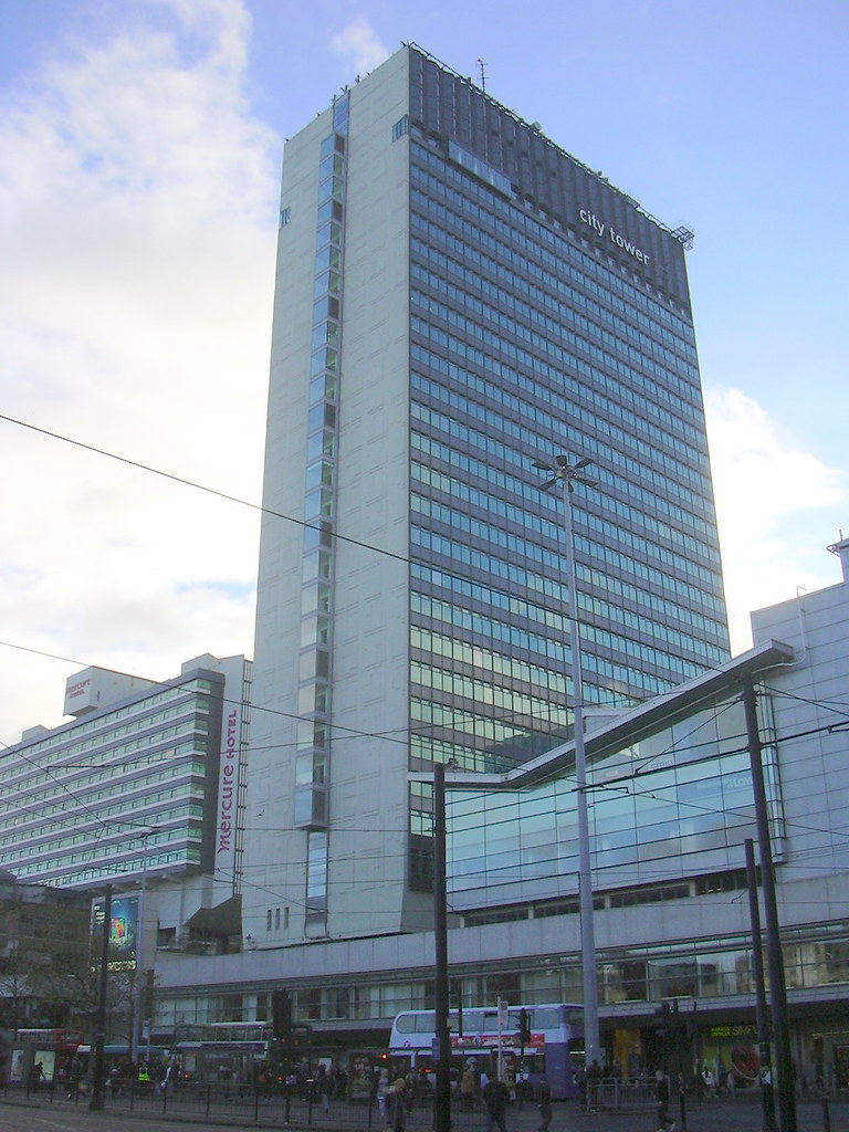 City Tower Piccadilly Plaza Manchester Greater Manchest