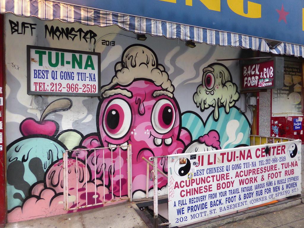 Buff Monster Graffiti New York Duncan C Flickr