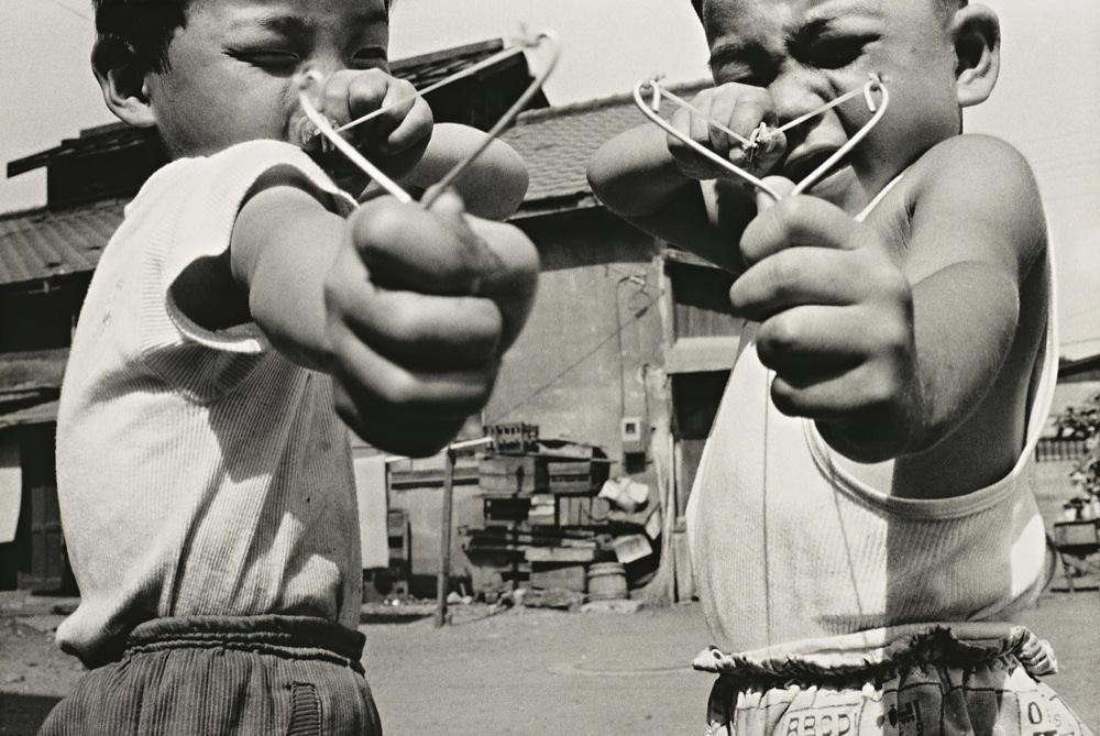 © Nobuyoshi Araki; Satchin and his brother Mabo, 1963