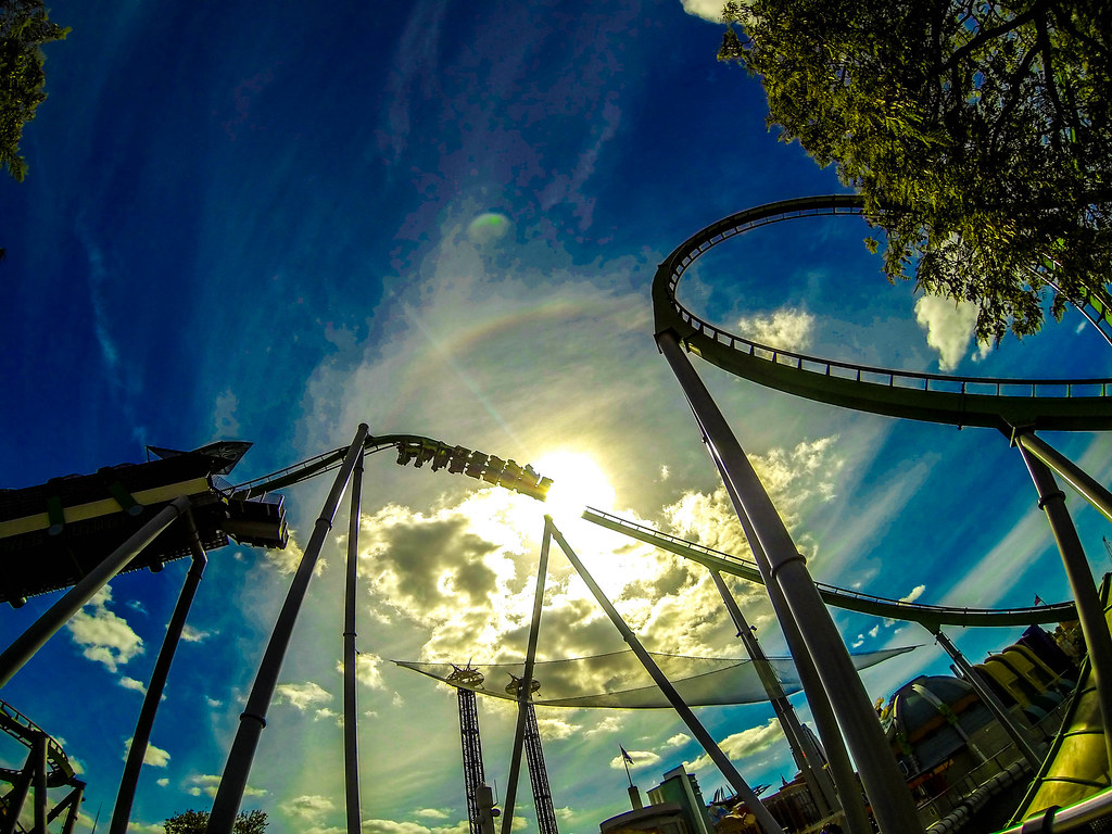 The Incredible Hulk Roller Coaster Islands Of Adventure