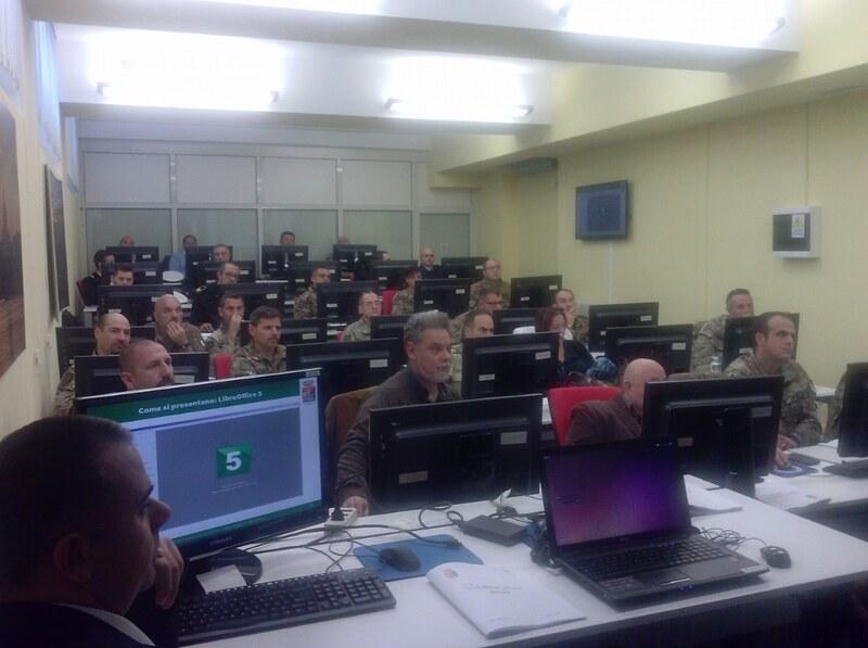 LibreOffice az olasz hadseregnél