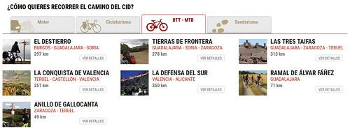Vacaciones en bicicleta: El camino del Cid