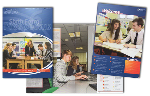 2014 Sandown Bay Academy 6th form prospectus | by s0ulsurfing