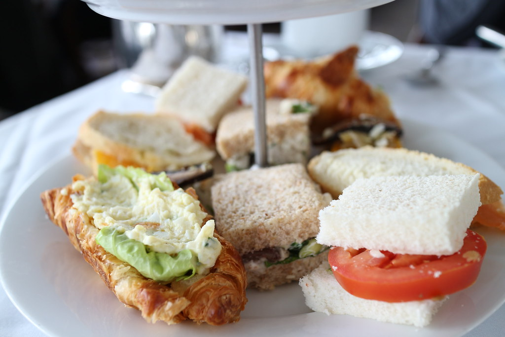 Afternoon Tea Rundle Lounge Finger Sandwiches Www Elsieh Flickr