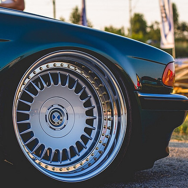 3 Piece Converted Dished Bmw Deepdish Rims Wheels Flickr