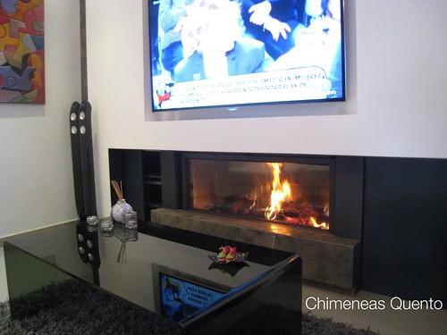 Chimenea quento modelo ddos con stuv 135 - Chimeneas quento ...