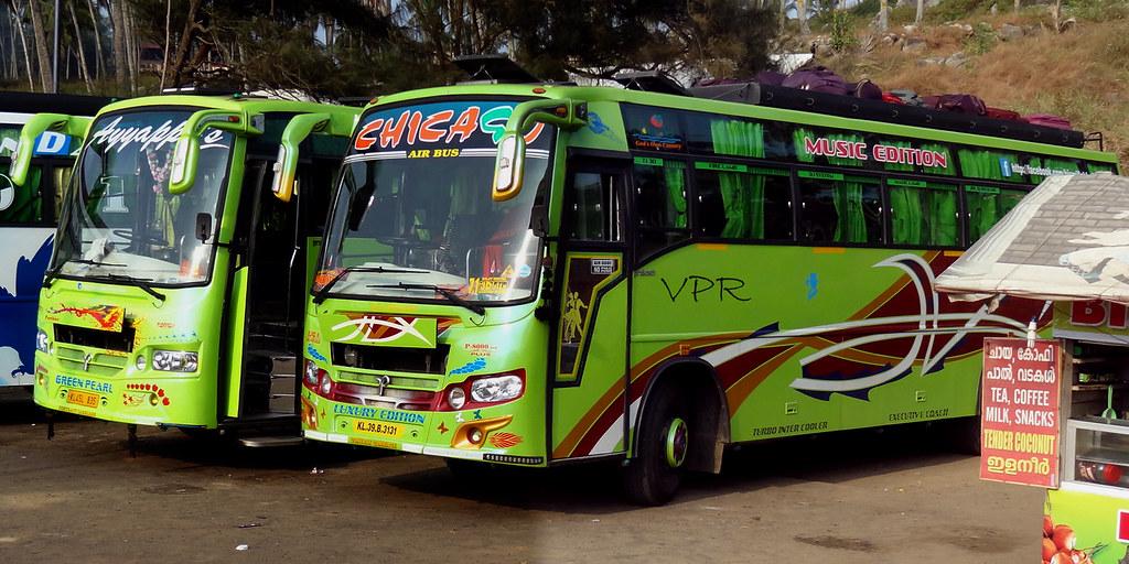 Ayyappan Tourist Bus Kerala Pooraja V Tuticorin Flickr