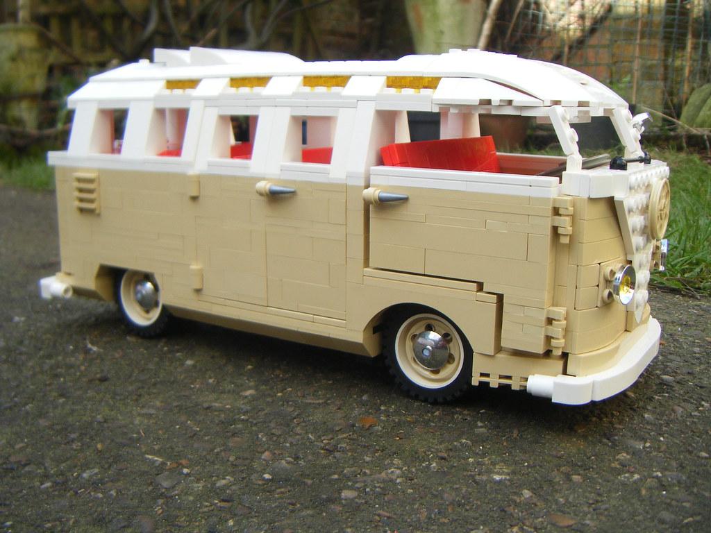 Lego Vw Split Sreen Barn Door 23 Window Samba I Tried A Flickr