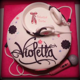 Torta Cake Design Violetta : Violetta Cake - Violetta Disney Cake - Violeta torta by Ba ...