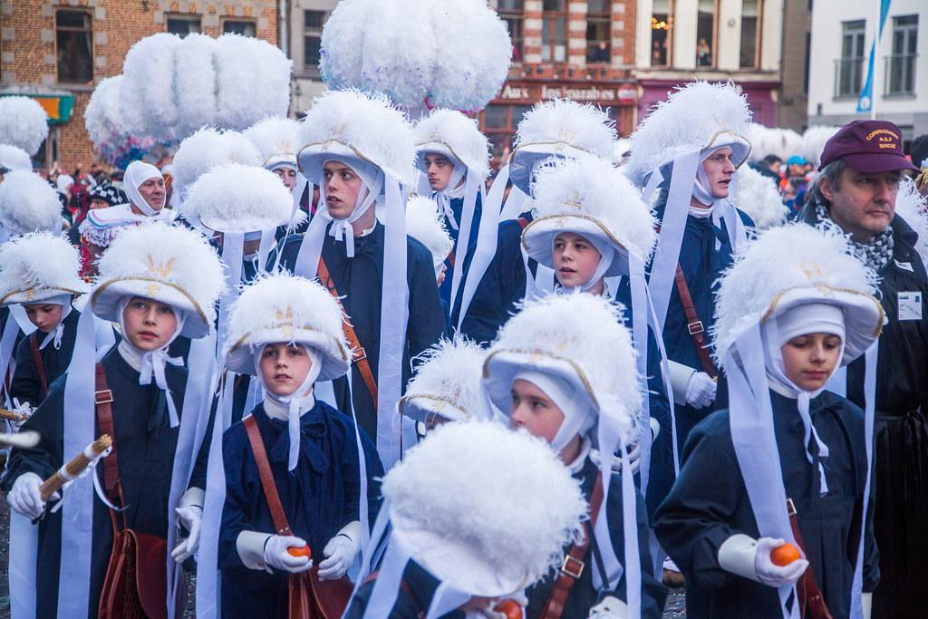 Belgique Carnaval De Binche 2015 Vol 1 Europe Europa