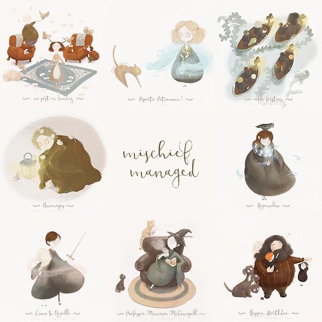 #PotterWeekPrompts