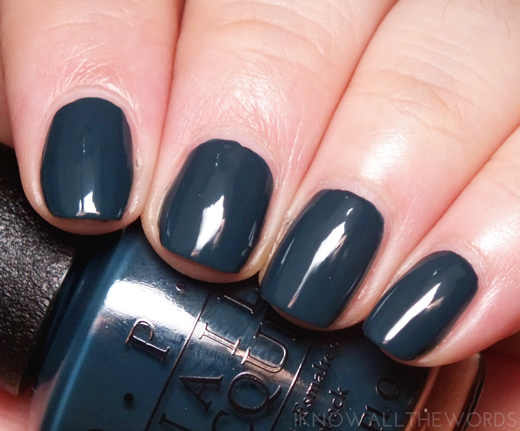 OPI CIA= Colour is Awesome