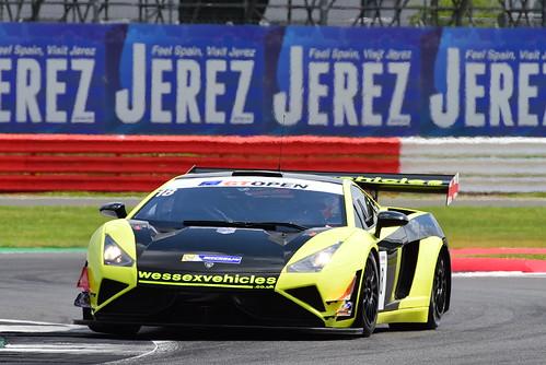 Craig Dolby - Tomas Enge, Lamborghini Gallardo Rex GT3, International GT Open, Silverstone 2016