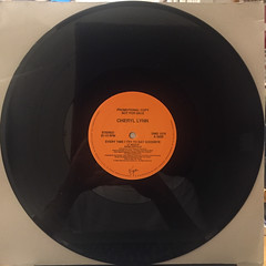 CHERYL LYNN:EVERY TIME I TRY TO SAY GOODBYE(RECORD SIDE-A)